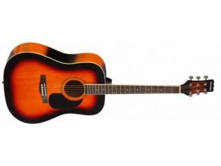 Акустические гитары MARTINEZ FAW-702/VS c доставкой по России