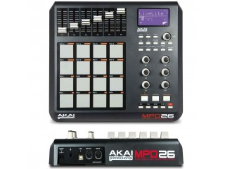 DJ MIDI - контроллеры  AKAI PRO MPD26 c доставкой по России
