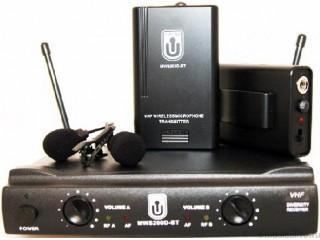 Петличные радиосистемы  WOLDY MWS200D-BT c доставкой по России