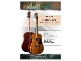 Акустические гитары OscarSchmidt OG21 TM c доставкой по России