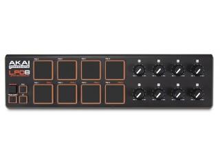 DJ MIDI - контроллеры  AKAI PRO LPD8 c доставкой по России