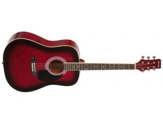 Акустические гитары MARTINEZ FAW-702/TP c доставкой по России