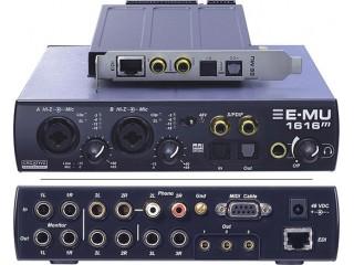 Звуковые карты и аксессуары  Creative Professional E-Mu 1616M PCIe c доставкой по России