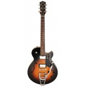 GODIN 38787  Montreal Premiere Sunburst HG w/Bigsby with Bag