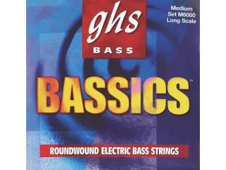 Струны для бас-гитар  GHS STRINGS M6000 BASSICS c доставкой по России
