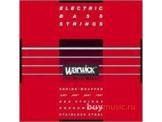 Струны для бас-гитар  Warwick 42200 M 4  Set RED c доставкой по России