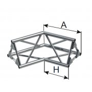INSTALL 2-х сторонний угол 120°
