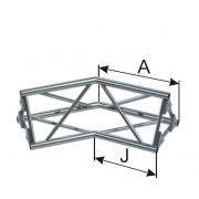 INSTALL 2-х сторонний угол 135°